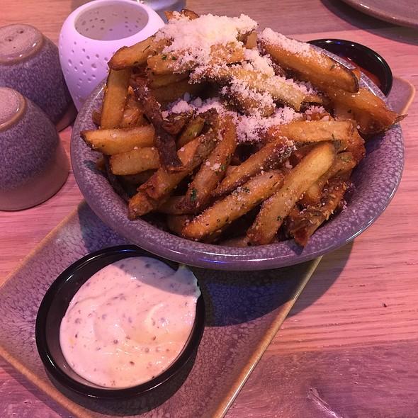 Garlic Truffle Fries at Moku Kitchen