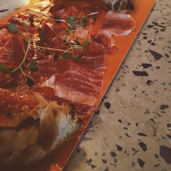 Spanish Ham & Tomato Bread @ Ataula