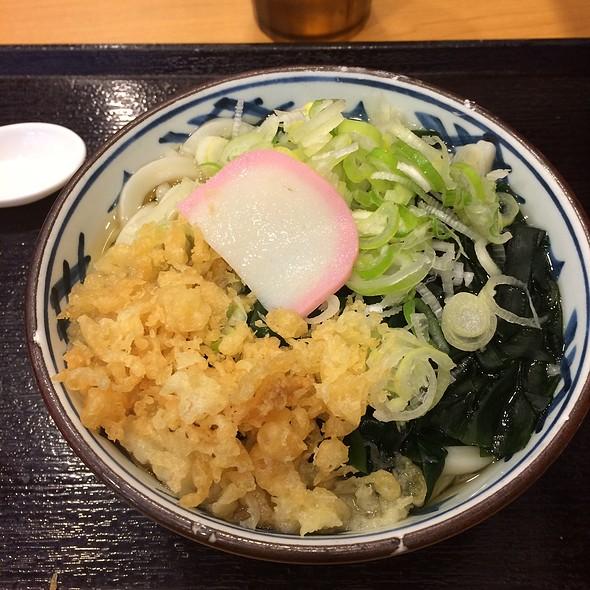 Wakame Udon @ 瀬戸うどん 高輪三丁目店