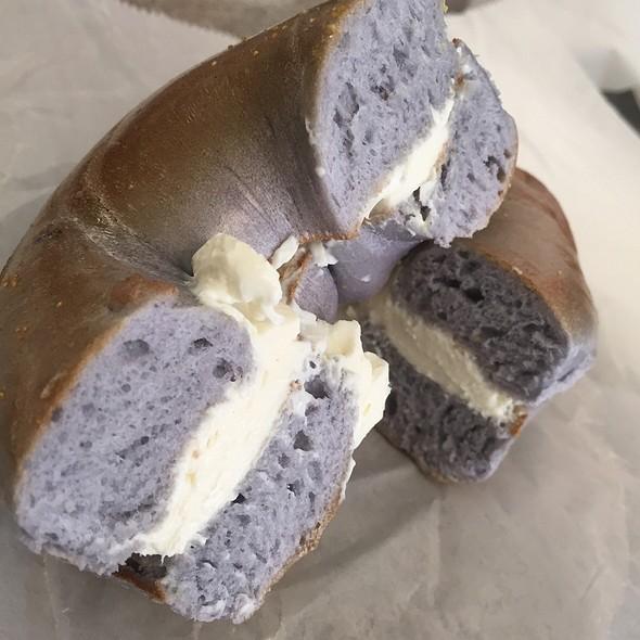 Blueberry Bagel @ Bagel Express