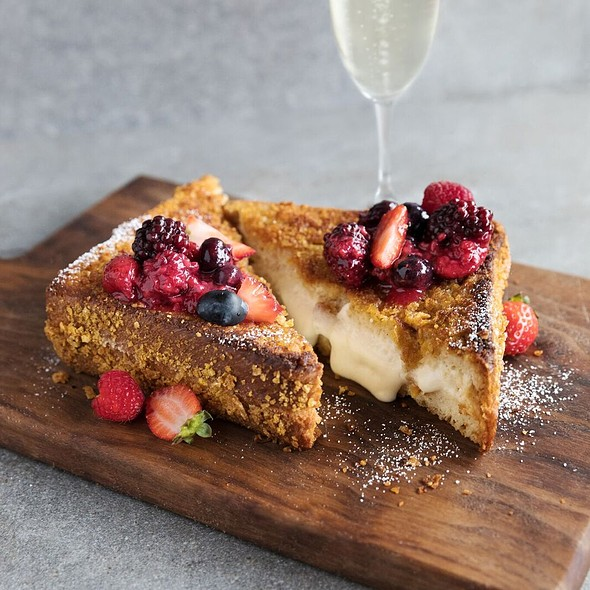 Decadent Stuffed French Toast