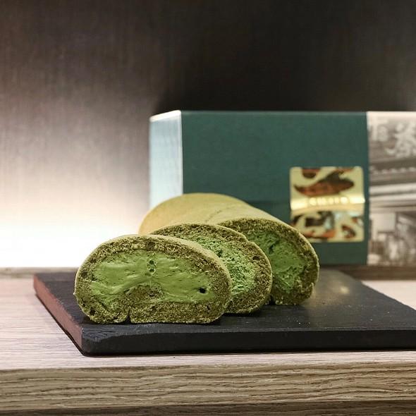 Tsujiri Roll Cake (Matcha) @ TSUJIRI Tea House
