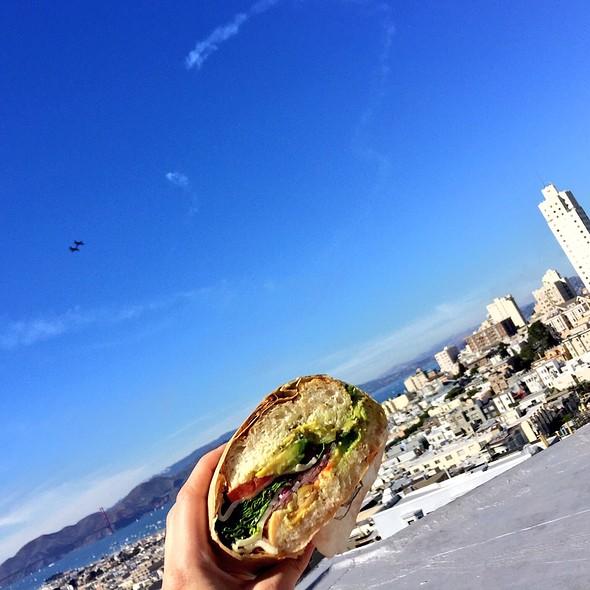 Veggie Sandwich @ Le Beau Nob Hill Market