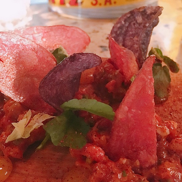 steak tartare @ Ataula