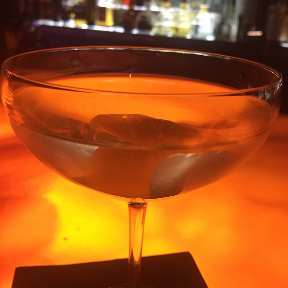 The Vesper Martini @ Lola Bistro