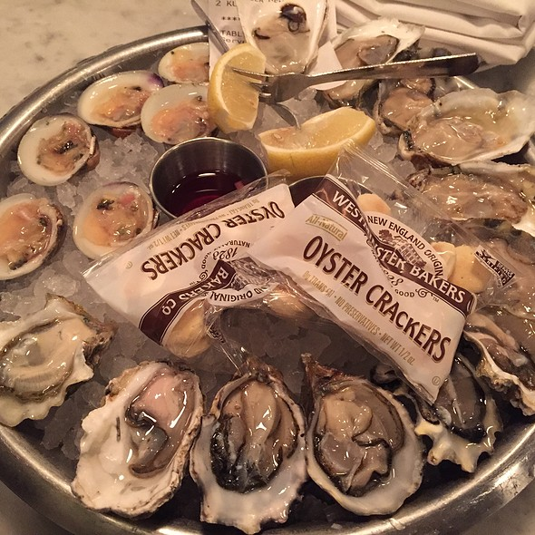 Assorted Oysters And Clams