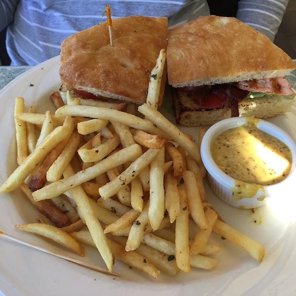 Salmon BLT Sandwich @ Rio City Cafe