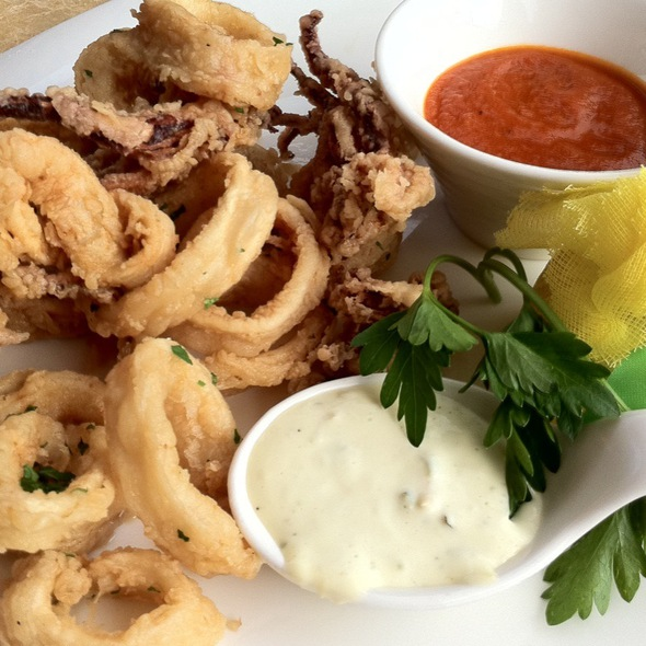 Fried Calamari @ Bussalacchi A Modo Mio