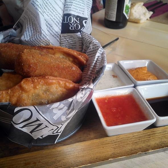 Crunchy table @ Con 2 Fogones