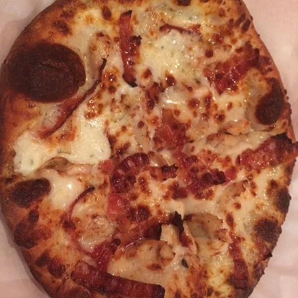Chicken Bacon Ranch Pizza @ Mancino's Pizza & Grinders