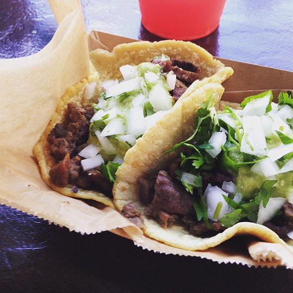 Carne Asada Tacos @ ¡SALUD!
