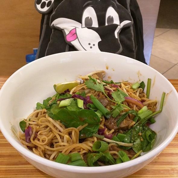 Spicy Korean Beef Noodles @ Noodles & Company