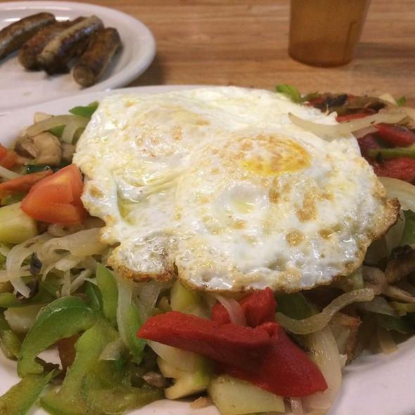Vegetarian Mixed Grill @ DeLuca's