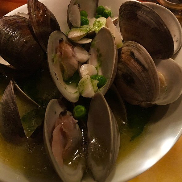 Clams In Broth @ Boca Bistro