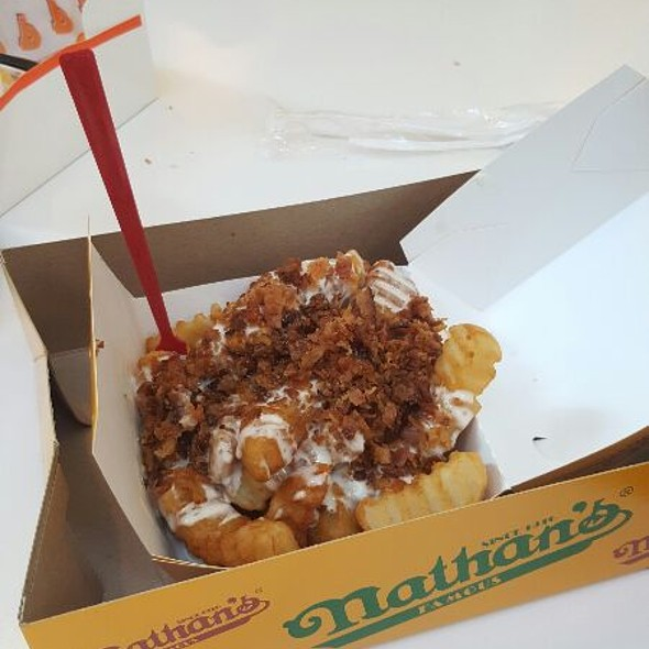 Fries @ Nathan's Famous