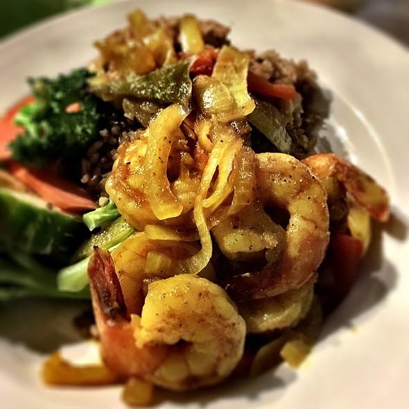 Coconut Curry Shrimp @ Coco Beach Bar