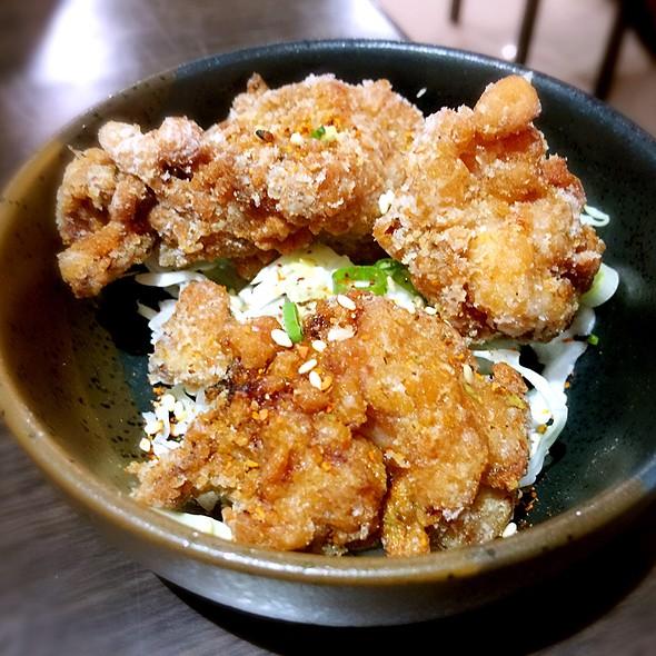 揚唐炸雞+ビール @ 樂町食堂