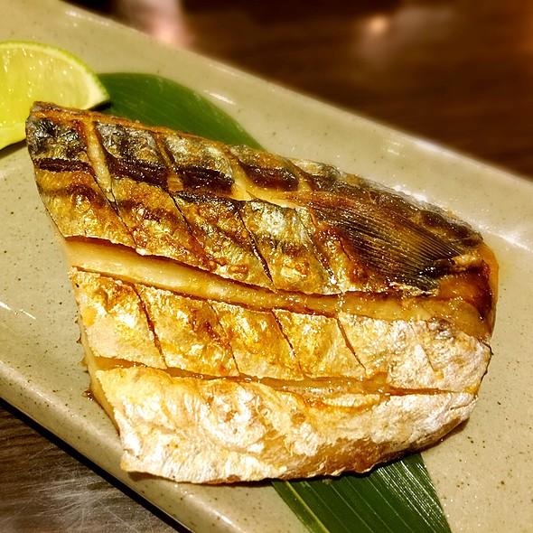 鯖魚一夜干 @ 樂町食堂