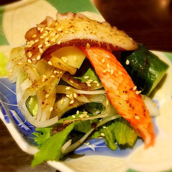 和風章魚沙拉2 @ 樂町食堂