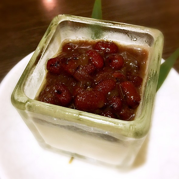 紅豆抹茶奶酪 @ 樂町食堂