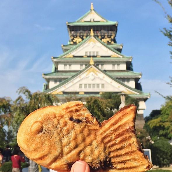 Taiyaki @ Osaka Castle Park