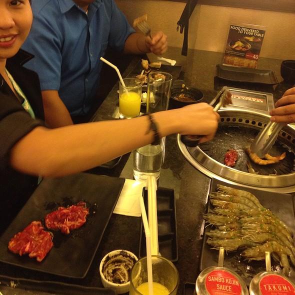 Yakiniku Smokeless Grill @ Sambokojin