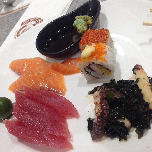 Japanese Station @ Vikings a Feast from the Sea