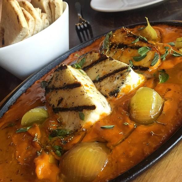 Grilled Halloumi Saganak @ Helen Greek Food & Wine