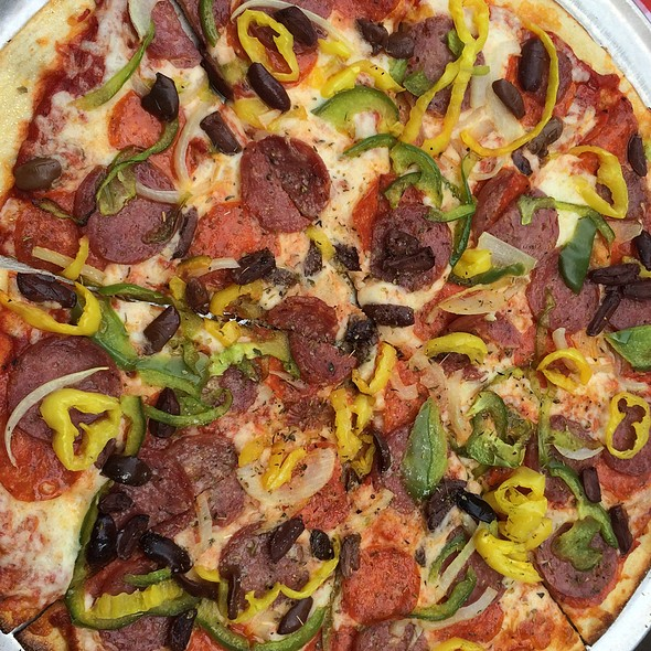 The Hill Pizza @ Pi Pizzaria At MX