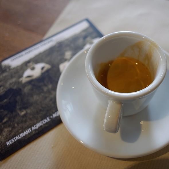 Espresso @ Osteria Agricola Toscana