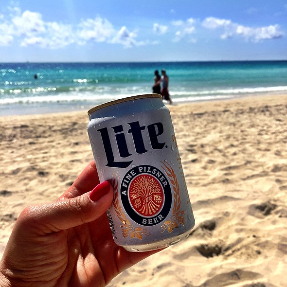 Miller Lite Beer @ Nikki Beach Miami