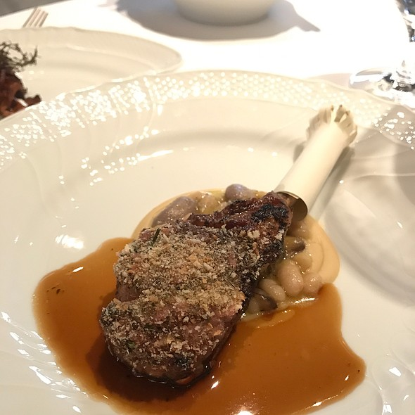 Lamb Chop And Lamb Neck