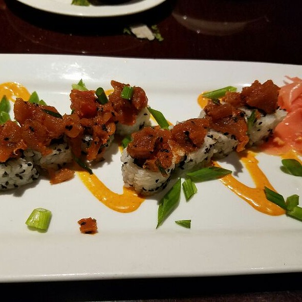 spicy ahi @ Stanford's Restaurant & Bar