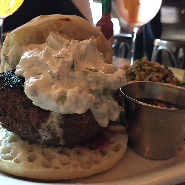 Lamb Burger @ Sweetwater Tavern