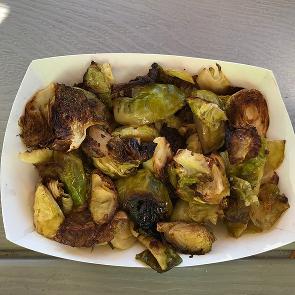 Roasted brussels sprouts @ Melts