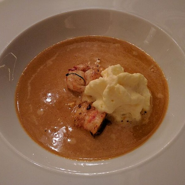 Lobster Bisque @ Walt's
