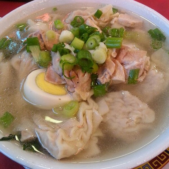 House Wonton Soup @ China Cafe At Grand Central Market