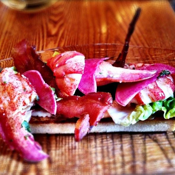 Lobster Salad, Avocado And Fennel @ Park Avenue Spring
