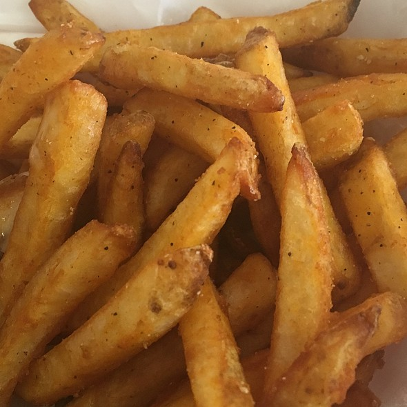 Spicy Fries @ Le Roy's Food Mart