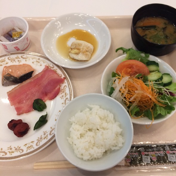Selections From The Breakfast Buffet @ 大分センチュリーホテル (Oita Century Hotel)