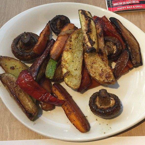 Grilled Veget @ Happy Bar & Grill