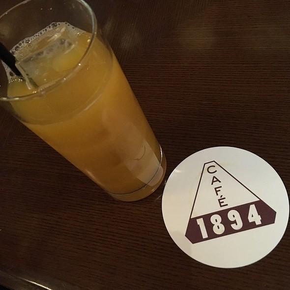 Orange Juice @ Cafe 1894