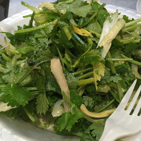 Tiger Vegetable Salad @ Xi'an Famous Foods