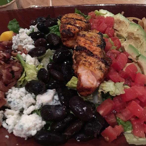 Organic Grilled Salmon Cobb Salad @ Dos Caminos Park