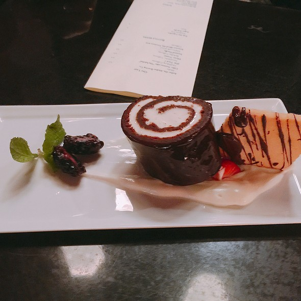 Dark Chocolate Roulade @ Formoli's Restaurant