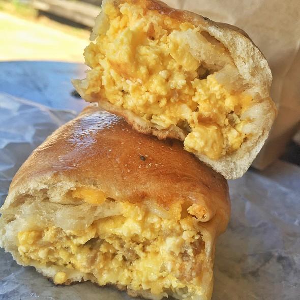 Breakfast Bagel @ The Hot Bagel Shop