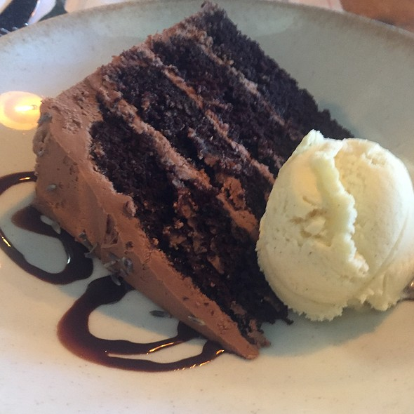 Chocolate Lavender Cake @ Southern Goods