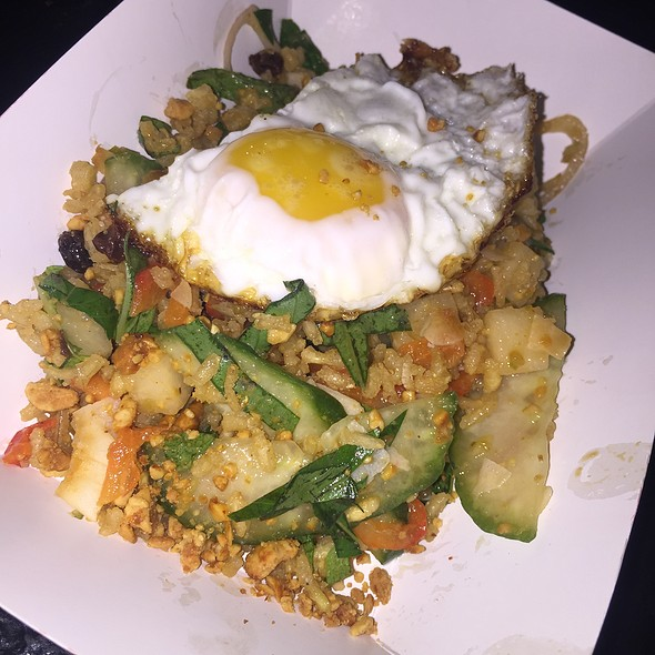 Crispy Rice Bowl @ Glitter Karaoke