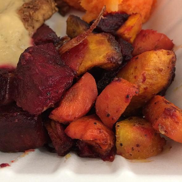 Roasted Veggies @ Down To Earth All VEGETARIAN Organic & Natural