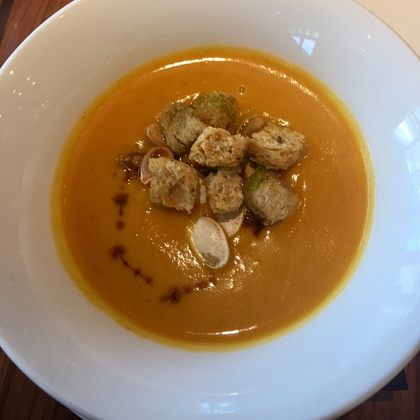 Roasted Pumpkin Soup @ Eleve @ The Grand Bohemian